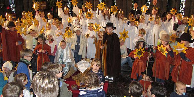 10 Minuten an der Krippe – unser Beitrag zum synodalen Weg der Kirche (Foto: SAL)