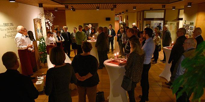 Eröffnung der MarriageWeek in Herxheim mit einem Candlelight-Dinner (Foto: Klaus Kröper)