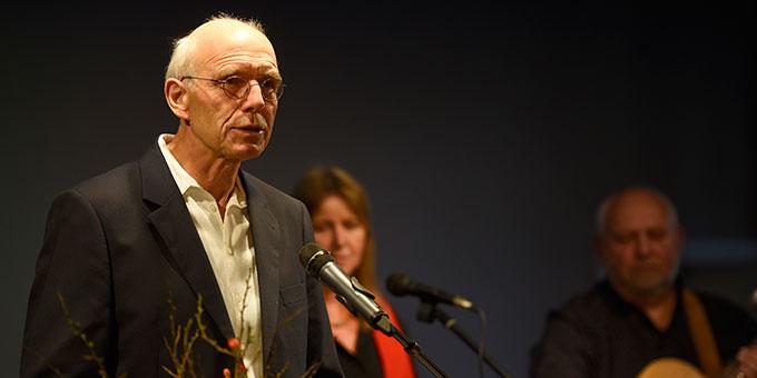 Dr. Hans-Josef Werner beim Impuls (Foto: Klaus Kröper)