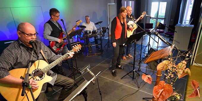 Live-Musik bei der Matinee in der Villa Wieser (Foto: Klaus Kröper)