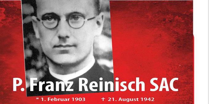 Ausstellung zu Pater Franz Reinisch in 14 Stationen (Grafik: Zepp)