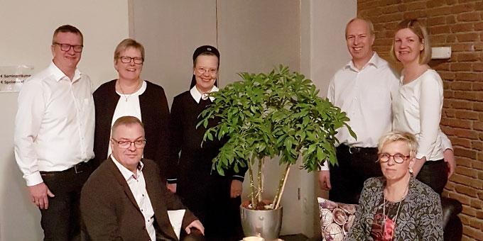 Das Candlelight-Team der Schönstattfamilienbewegung Münster (Foto: Peitz)