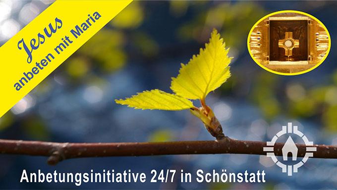 Anbetungsinitiative in Schönstatt (Foto: Team24/7)