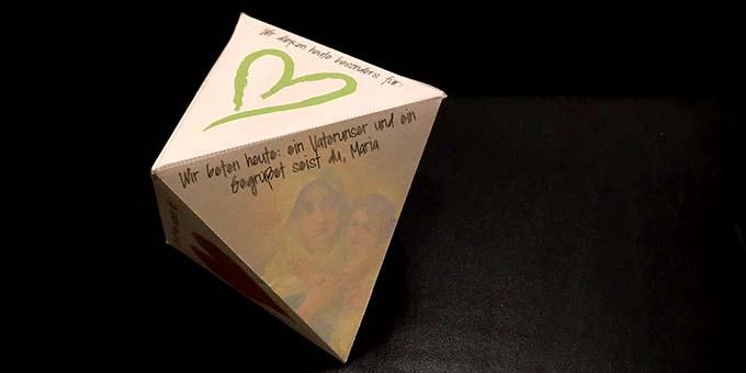 Oktaeder - nicht nur für Familien - für die Corona-Zeit (Foto: Brehm)