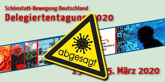 Absage der Delegiertentagung der Schönstatt-Bewegung Deutschland