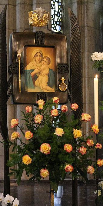 Marienbild in der Krönungskirche (Foto: Wehrle)