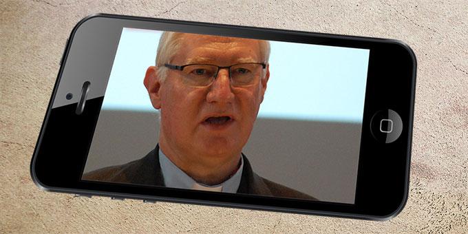 """Pater Ludwig Güthlein im Interview zum """"Liebesbündnis in der Corona-Krise"""" (Foto: Brehm)"""