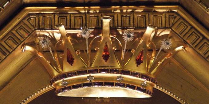 Krone der Dreimal Wunderbaren Mutter, Königin und Siegerin von Schönstatt im Urheiligtum, Vallendar (Foto: pmehs)