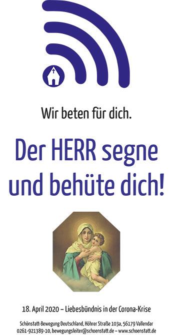 Segensspruch für die Haustüre (Foto: Brehm)