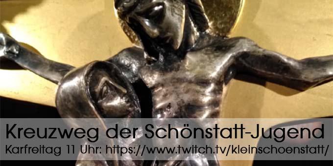 Livestream-Kreuzweg der Schönstatt-Jugend