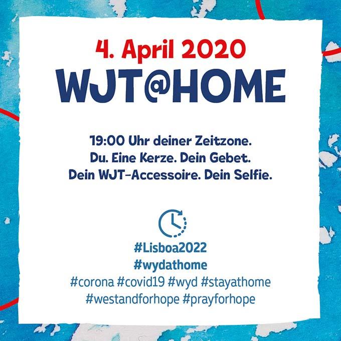 Aktion WJT@home (Foto: afj)