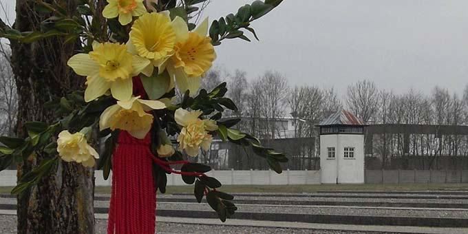 6. April 2020: Vor 75 Jahren kam Pater Josef Kentenich aus dem Konzentrationslager Dachau frei (Foto am 6.4.2013 in der KZ-Gedenkstätte Dachau aufgenommen, Grimm)