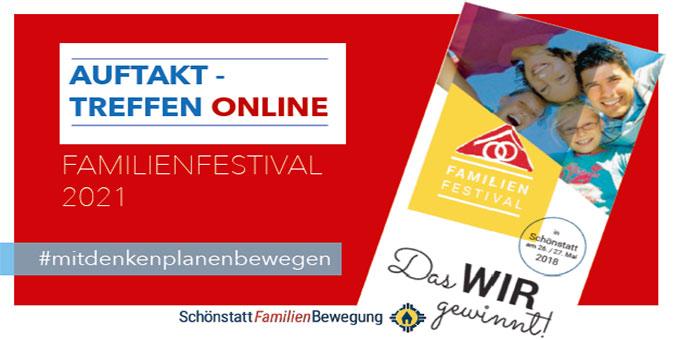Auftakt-Treffen Online zum Familienfestival 2021