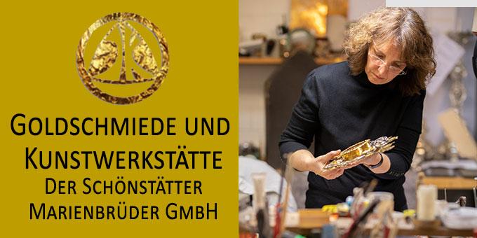 Stellenangebot der Goldschmiede und  Kunstwerkstätte der Schönstätter Marienbrüder GmbH