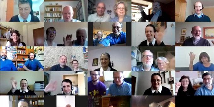 Das Europaforum der Schönstatt-Familien in Europa traf sich in diesem Jahr per Online-Meeting (Foto: Lilek)