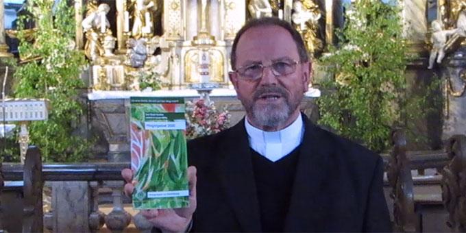 Pfarrer Josef Treutlein, Würzburg, ist Autor des Pfingstgebetes 2020 der Schönstatt-Bewegung Deutschland (Foto: Shanel)