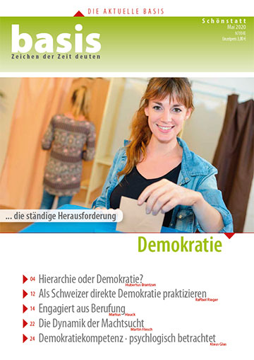 Cover der basis 05/2020 (Foto: Patris Verlag)