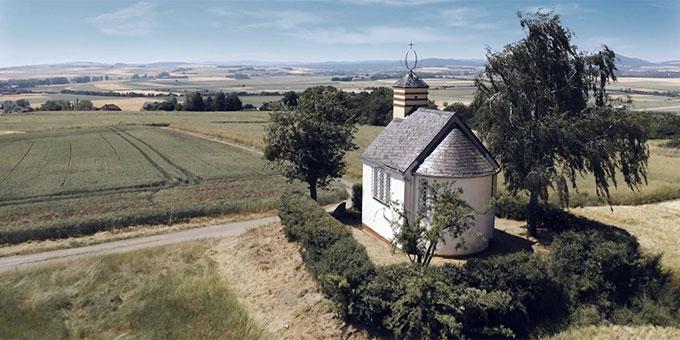 Die Johanneskapelle auf dem Korretsberg bei Kruft, Vulkaneifel (Foto: SWR Landesschau)