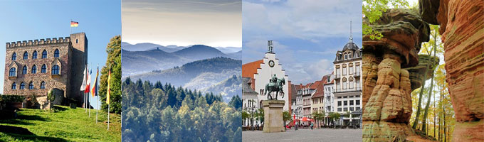 Neben politisch-historischen Orten besticht die Pfalz z. B. mit abwechslungsreichen Wanderangeboten (Foto: pixabay)
