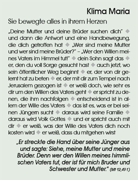 Klima Maria (Text: Ludwig Güthlein)