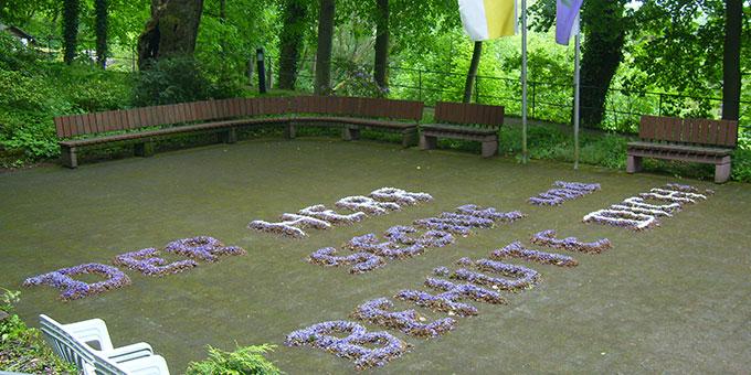 Zu Fronleichnam ein Segensspruch statt Blumenteppichen (Foto: Alena Engelhardt)