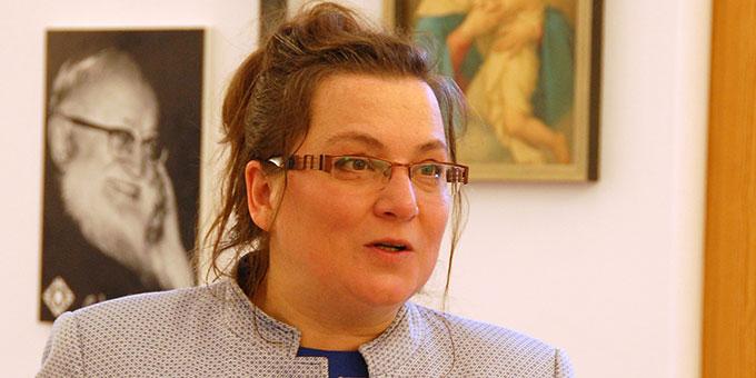 Dr. Alicja Kostka hat das Buch zusammengestellt (Foto: Brehm)