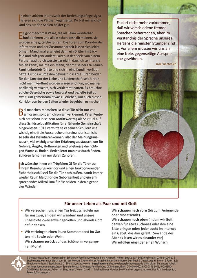 """Ehepaar-Newsletter 07/2020 """"Wir zwei - Immer wieder neu"""" (Foto: ShonEjai, pixabay.com)"""
