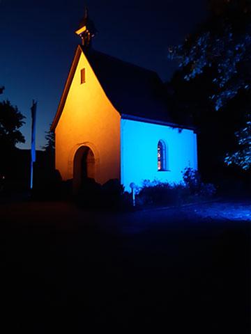 Corona motiviert zu einer neuen Anbetungsinitiative im Schönstatt-Heiligtum Aulendorf, Diözese Rottenburg-Stuttgart (Foto: Sugg)