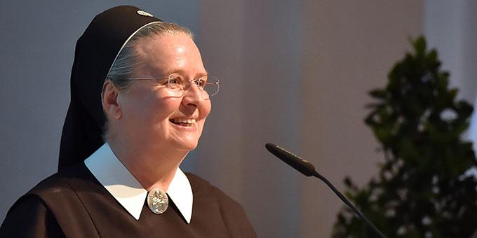 Historikerin und Autorin Schwester M. Doria Schlickmann (Foto: Wirtschaftstag Fulda)