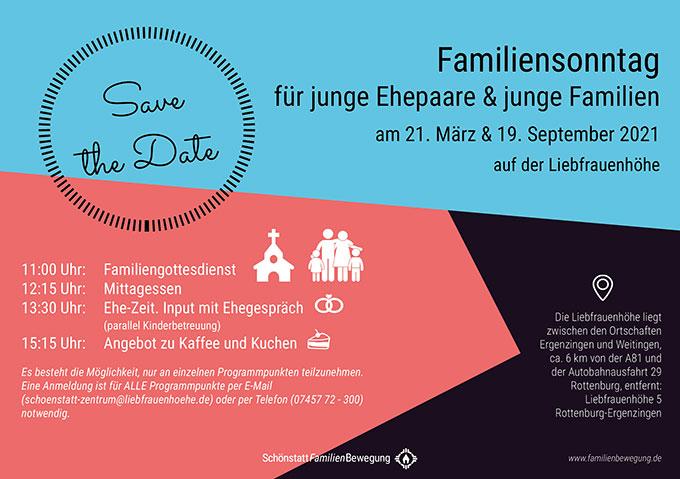 DOWNLOAD FLYER (PDF): Familiensonntage 2021 im Schönstatt-Zentrum Liebfrauenhöhe