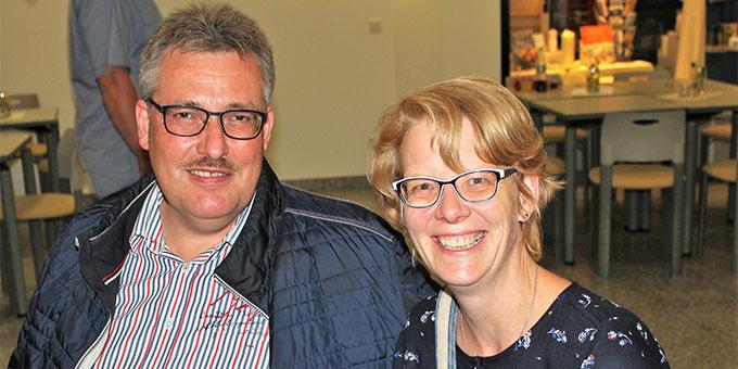 """""""Es gibt immer einen Grund zur Freude!"""" Silke und Jochen Lösing gehören zum Leitungsteam der Schönstatt-Familien im Bistum Münster (Foto: Imwalle)"""