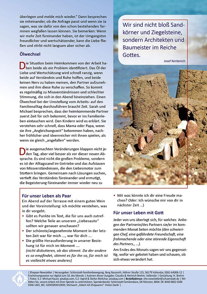 """Ehepaar-Newsletter 09/2020 """"Wir zwei - Immer wieder neu"""" (Foto: Ingrid & Stefan Melichar, pixabay.com)"""