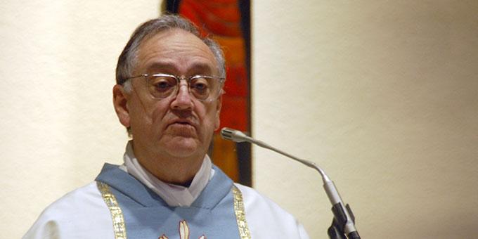 Pater Eduardo Aguirre ist Postulator im Seligsprechungsprozess von Pater Josef Kentenich (Foto: Brehm)
