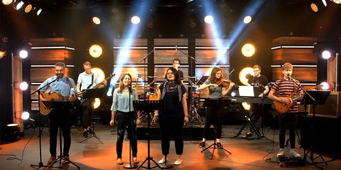 Die Musik für die NdH wurde im Studio vorproduziert (Foto: NdH)