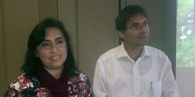 Vanessa und Matthias Franke sind die Sprecherfamilie des neuen Leitungsteams der Schönstatt-Familienbewegung im Bistum Trier (Foto: Brehm)