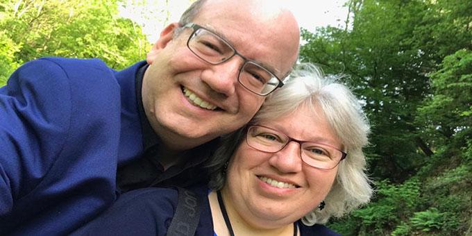 Ehepaar Marielle und Michael Defrancesco konnten wegen eines Trauerfalls in der Familie nicht am Begegnungstag teilnehmen (Foto: privat)
