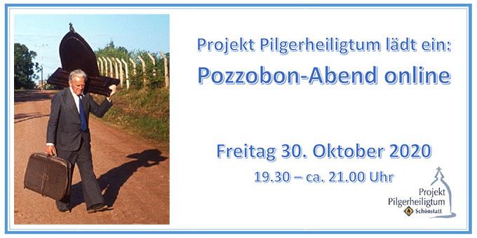 Pozzobon-Abend - Online (Foto: Projekt Pilgerheiligtum)