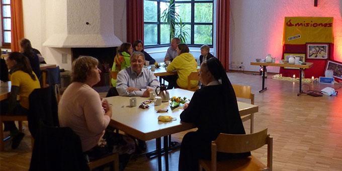 Treffen in Schönstatt mit Mitgliedern der Gemeinde Eislingen (Foto: Beyer)