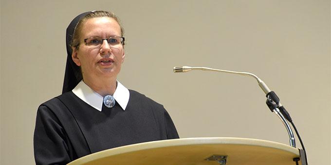 Schwester M. Veronika Riechel, Schönstätter Marienschwester und mitverantwortlich für die Begleitung der Schönstatt-Familienbewegung (Foto: Klaus Kröper)