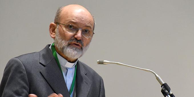 Pater Heinrich Walter ISch, als Vertreter der Internationalen Koordinationsstelle der Schönstatt-Bewegung (Foto: Klaus Kröper)