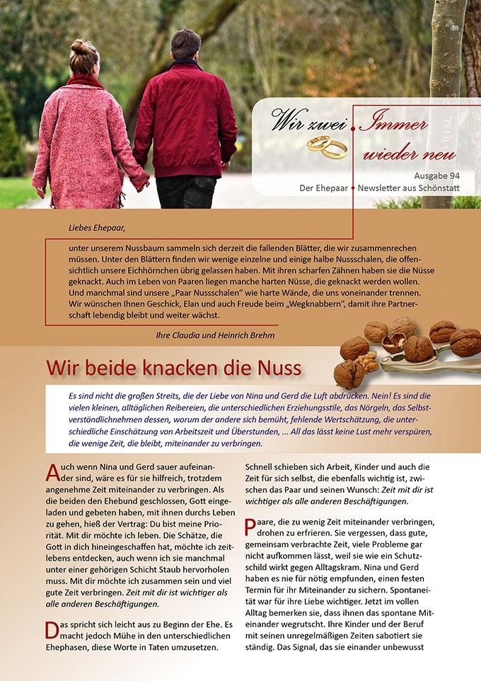 "Ehepaar-Newsletter 10/2020 ""Wir zwei - Immer wieder neu"" (Foto: Mabel Amber/congerdesign, pixabay.com)"