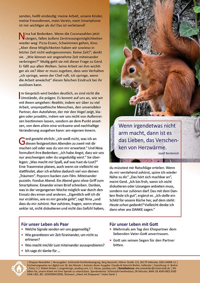 "Ehepaar-Newsletter 10/2020 ""Wir zwei - Immer wieder neu"" (Foto: Alexas, pixabay.com)"