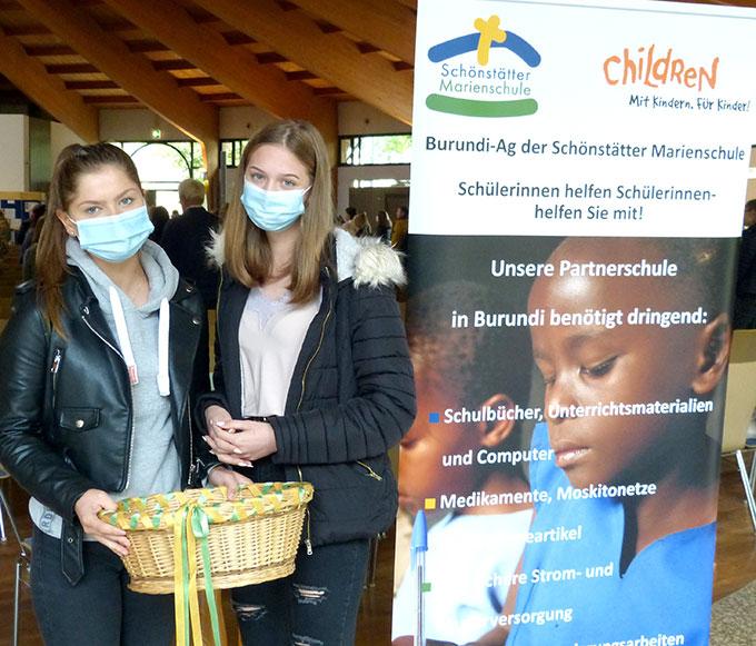 Kollekte für die Partnerschule in Burundi (Foto: Bleyenberg)