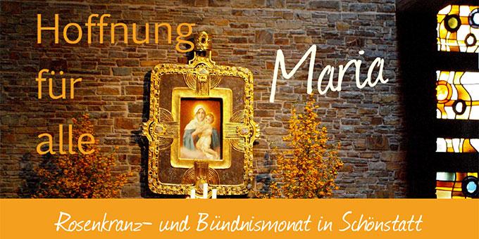 Oktobermonat in Schoenstatt
