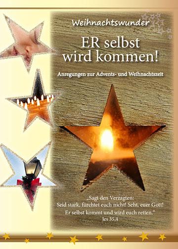 """Broschüre """"Er selbst wird kommen"""" (Foto: Projekt Pilgerheiligtum)"""