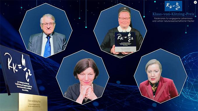 Screenshot von der digitalen Preisverleihung am 10. November 2020 (Foto: EWE-Stiftung)