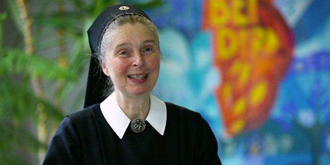 Schwester M. Gabriele Schreck, Schulleiterin der Schönstätter Marienschule (SMS) (Foto: EWE Stiftung)