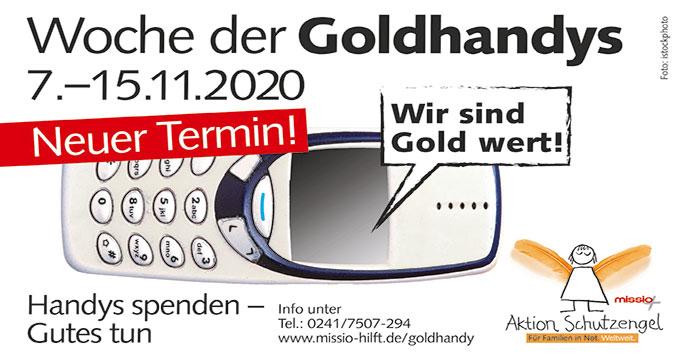 Woche der Goldhandys (Grafik: missio)