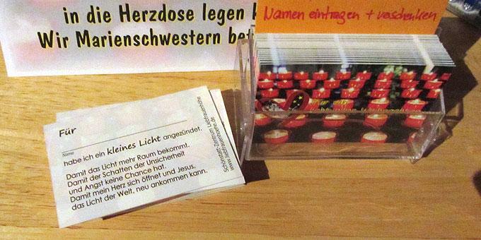 Scheck-Karte zum Verschenken (Foto: SAL)