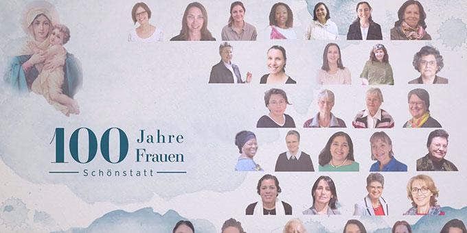 """Zum Jubiläum """"100 Jahre Frauenbewegung in Schönstatt"""" gibt es eine neue Internetseite: frauenprofile-schoenstatt.com"""